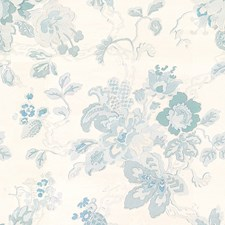 Blue/White Botanical Decorator Fabric by Lee Jofa