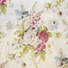 Pink/Green Botanical Decorator Fabric by Lee Jofa