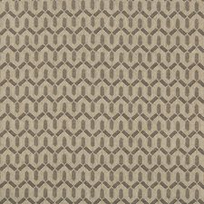 Grey Geometric Decorator Fabric by Lee Jofa
