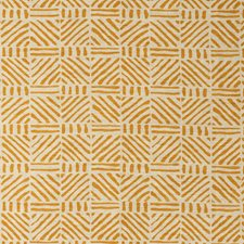 Tangerine Ethnic Decorator Fabric by Lee Jofa