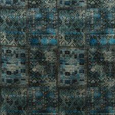 Indigo Print Decorator Fabric by G P & J Baker