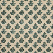 Indigo Botanical Decorator Fabric by G P & J Baker