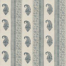 Blue Print Decorator Fabric by G P & J Baker