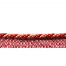 Cord Without Lip Pompeian Red Trim by Brunschwig & Fils