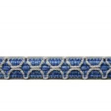 Gimp Canton Blue Trim by Brunschwig & Fils