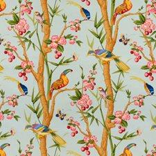 Bleu Print Decorator Fabric by Brunschwig & Fils