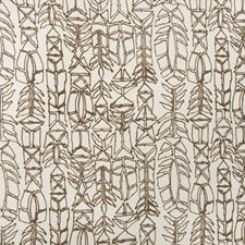 Brown Modern Decorator Fabric by Brunschwig & Fils