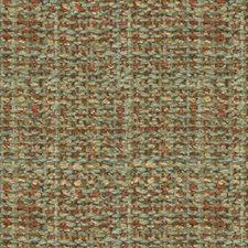 Jade/Coral Texture Decorator Fabric by Brunschwig & Fils