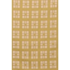 Chartreuse Geometric Decorator Fabric by Brunschwig & Fils