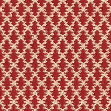 Poppy Geometric Decorator Fabric by Brunschwig & Fils