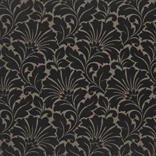 Black Flannel Decorator Fabric by Kasmir