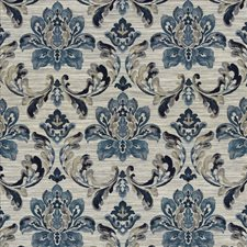 Indigo Decorator Fabric by Kasmir
