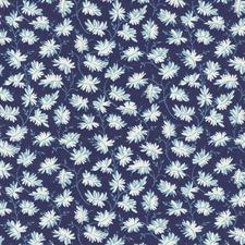 Blue/Light Blue/White Modern Decorator Fabric by Kravet