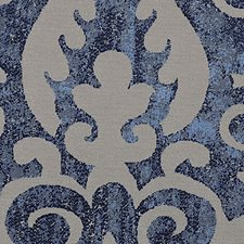 Slate Blue Decorator Fabric by Scalamandre