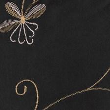 Onyx Embroidery Decorator Fabric by Kasmir