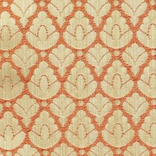 Gold/Topaz Decorator Fabric by Scalamandre