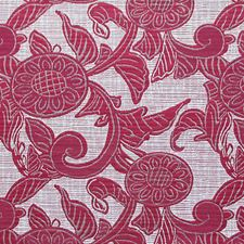 Rosso Decorator Fabric by Scalamandre