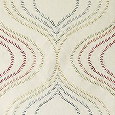 Flame Embroidery Decorator Fabric by Duralee