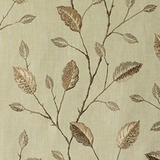 Honey Embroidery Decorator Fabric by Duralee