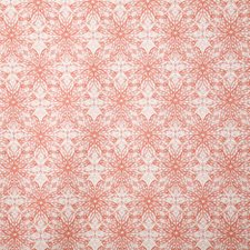 Coral Ethnic Decorator Fabric by Pindler