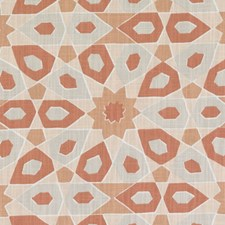 Coral Abstract Decorator Fabric by Duralee