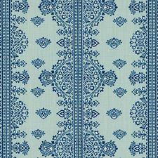 Sea Green Medallion Decorator Fabric by Duralee