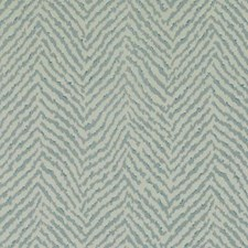 Aqua Herringbone Decorator Fabric by Duralee