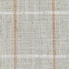 Orange Plaid Decorator Fabric by Duralee
