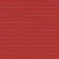 Poppy Red Stripe Decorator Fabric by Duralee