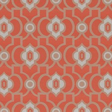 Flamingo Geometric Decorator Fabric by Duralee