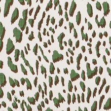 Green/brown Decorator Fabric by Duralee