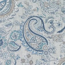 Atlantic Floral Large Decorator Fabric by Duralee