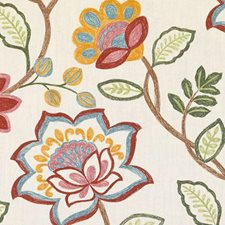 Multi Floral Large Decorator Fabric by Duralee