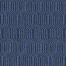 Lapis Geometric Decorator Fabric by Duralee