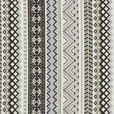 Black/Linen Chenille Decorator Fabric by Duralee