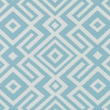 Light Blue Abstract Decorator Fabric by Duralee