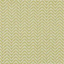 Apple Green Geometric Decorator Fabric by Duralee