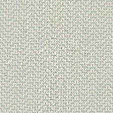 Sea Green Geometric Decorator Fabric by Duralee