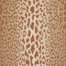 Papaya Animal Skins Decorator Fabric by Duralee