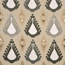 Linen/Pewter Decorator Fabric by Threads