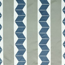 Indigo/Graphite Silk Decorator Fabric by Threads