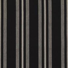 Ebony Stripes Decorator Fabric by Threads