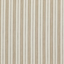 Taupe Stripes Decorator Fabric by Threads