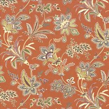 Terracotta Decorator Fabric by Kasmir