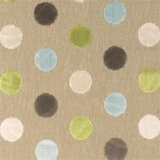Duckegg Dots Decorator Fabric by Clarke & Clarke