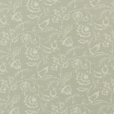 Sage Floral Medium Decorator Fabric by Clarke & Clarke