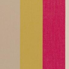 Raspberry Herringbone Decorator Fabric by Clarke & Clarke