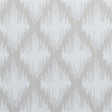 Linen Diamond Decorator Fabric by Clarke & Clarke