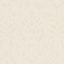 Natural Damask Decorator Fabric by Clarke & Clarke