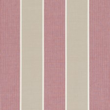 Raspberry Stripes Decorator Fabric by Clarke & Clarke